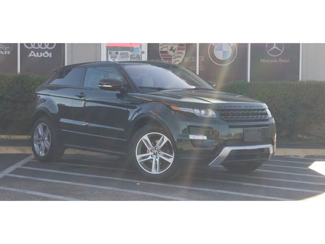 2012 Land Rover Range Rover Evoque Dynamic Coupe AWD