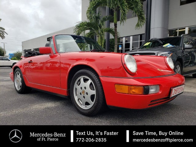 1990 Porsche 911 Carrera 4 Convertible AWD
