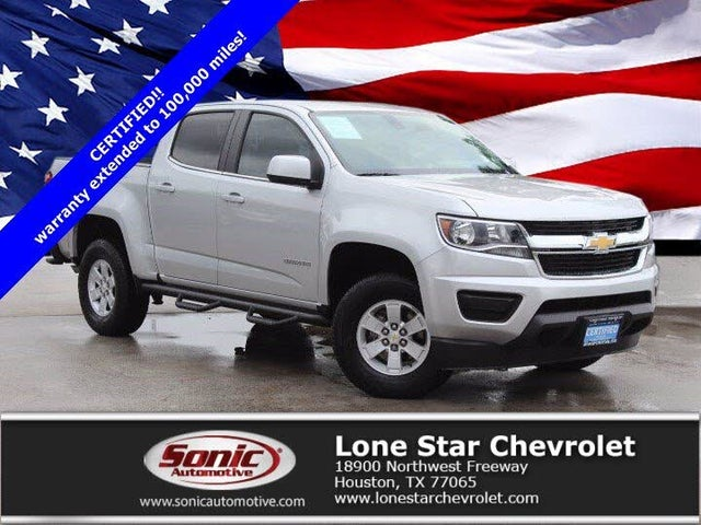 2019 Chevrolet Colorado Work Truck Crew Cab RWD