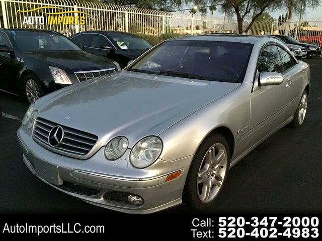 2004 Mercedes-Benz CL-Class CL 500 Coupe