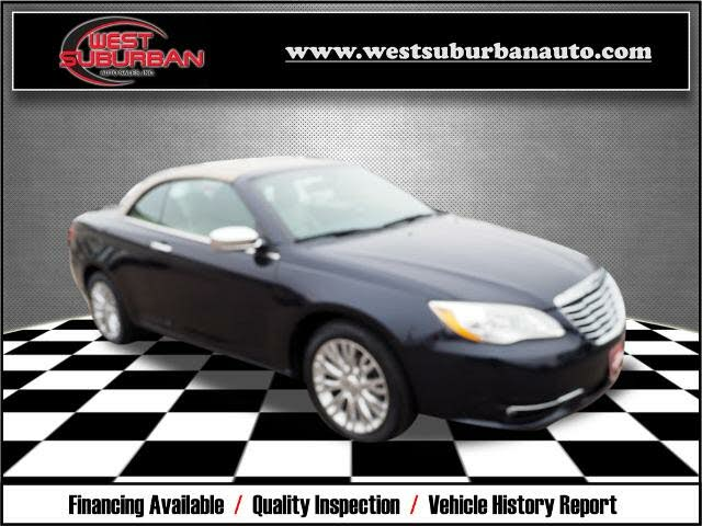 2012 Chrysler 200 Limited Convertible FWD