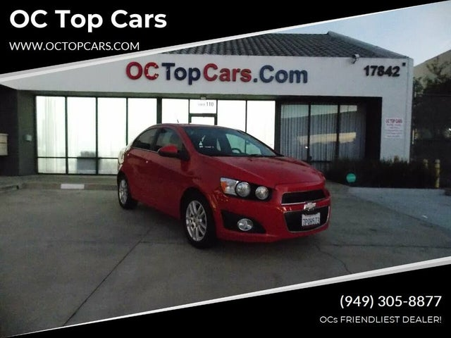 2012 Chevrolet Sonic 1LT Sedan FWD