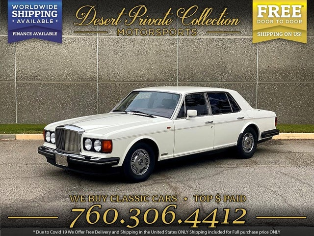 1989 Bentley Mulsanne S RWD