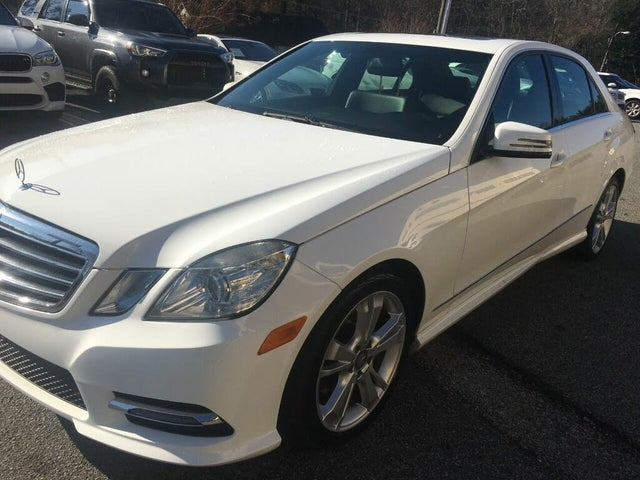 2013 Mercedes-Benz E-Class E 350 Luxury 4MATIC