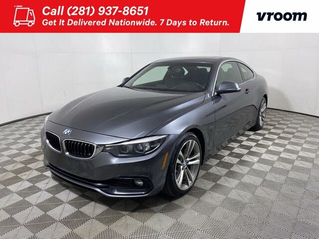 2018 BMW 4 Series 430i Coupe RWD