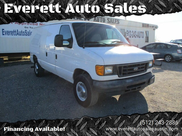 2005 Ford E-Series E-350 Super Duty Cargo Van