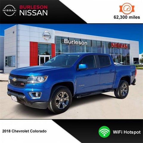 2018 Chevrolet Colorado Z71 Crew Cab RWD