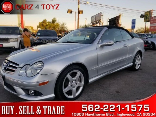 Used 2006 Mercedes Benz Clk Class For Sale Right Now Cargurus