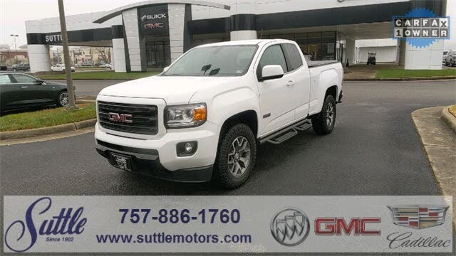 2018 GMC Canyon All Terrain Extended Cab LB 4WD with Cloth