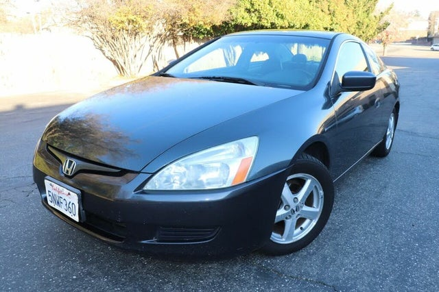 2005 Honda Accord Coupe EX with Leather and Nav