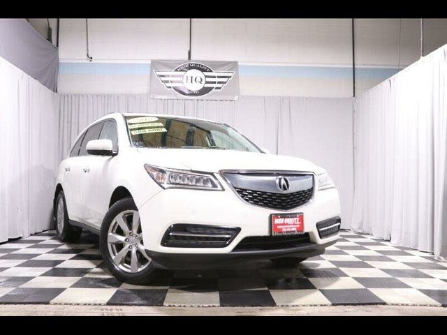 2015 Acura MDX SH-AWD with Advance and Entertainment Package
