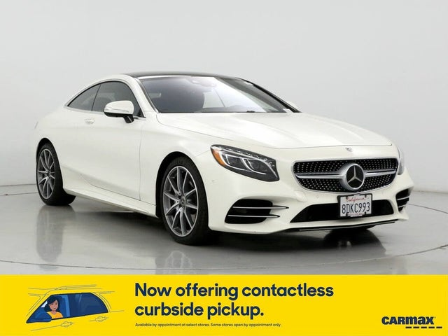 2018 Mercedes-Benz S-Class Coupe S 560 4MATIC