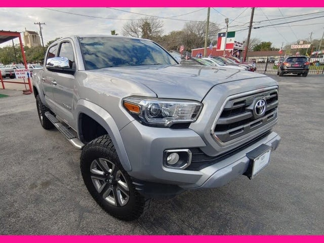 2017 Toyota Tacoma Limited V6 Double Cab 4WD