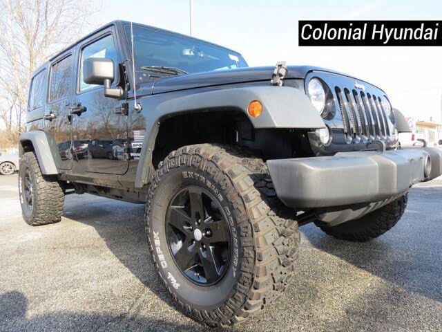 2016 Jeep Wrangler Unlimited Sport S 4WD