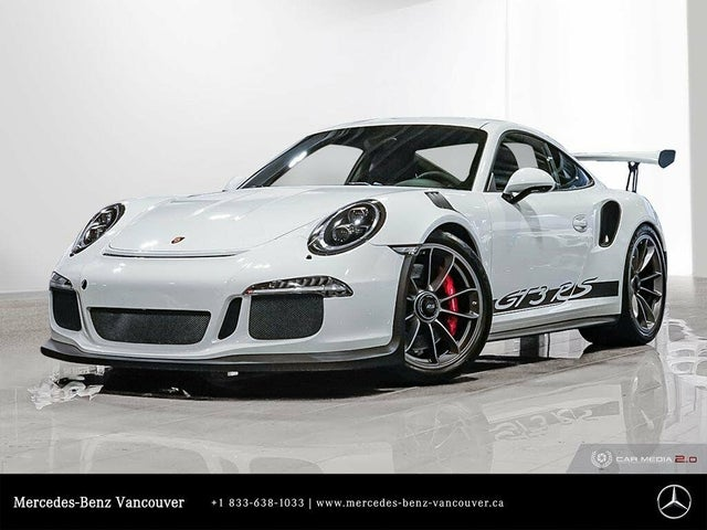 2016 Porsche 911 GT3 RS Coupe RWD