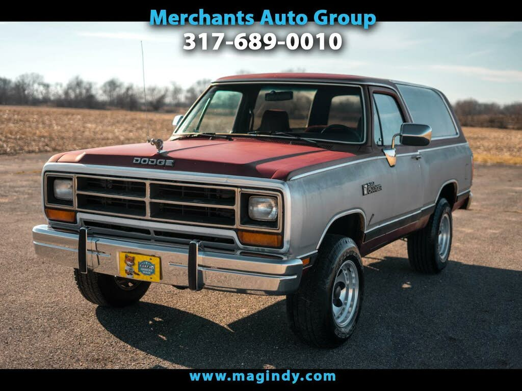 Used 1990 Dodge Ramcharger For Sale Right Now Cargurus