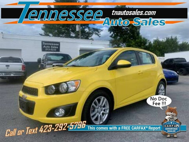 Used Chevrolet Sonic For Sale In Knoxville Tn Cargurus