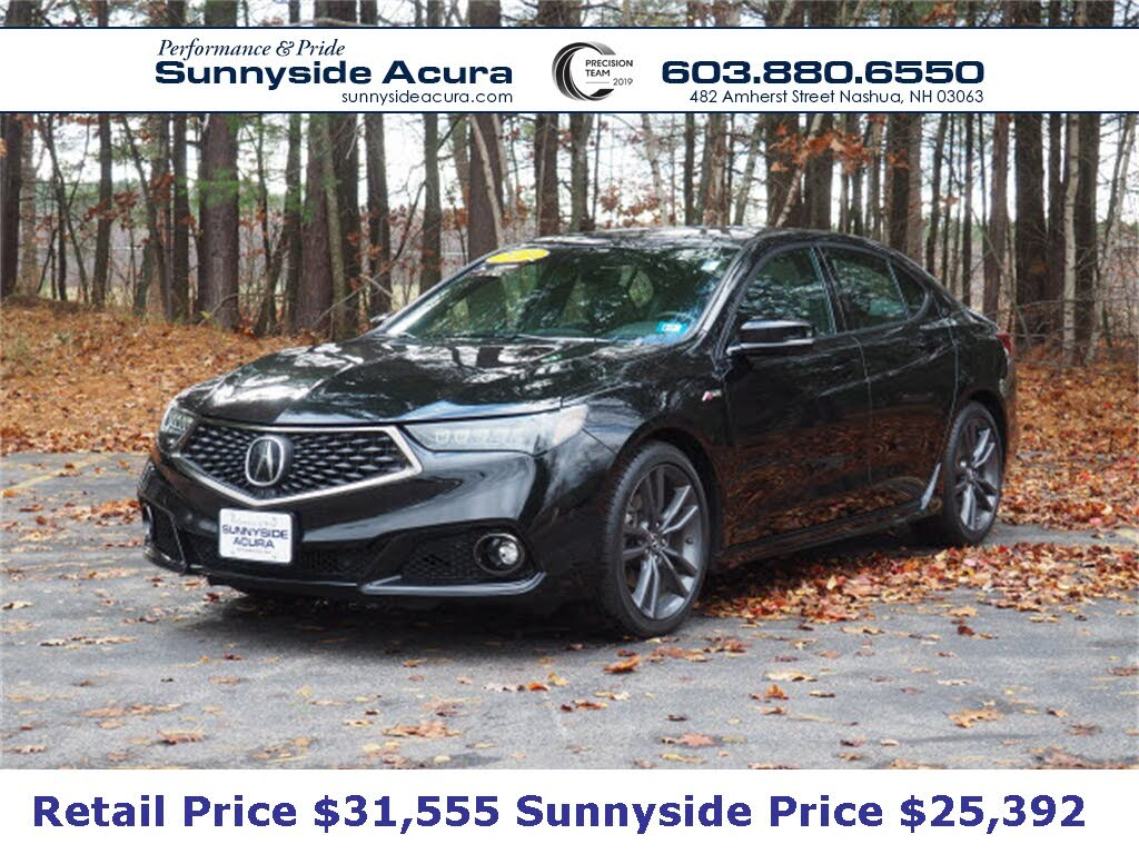 Used 2019 Acura Tlx A Spec Fwd With Technology Package For Sale Right Now Cargurus