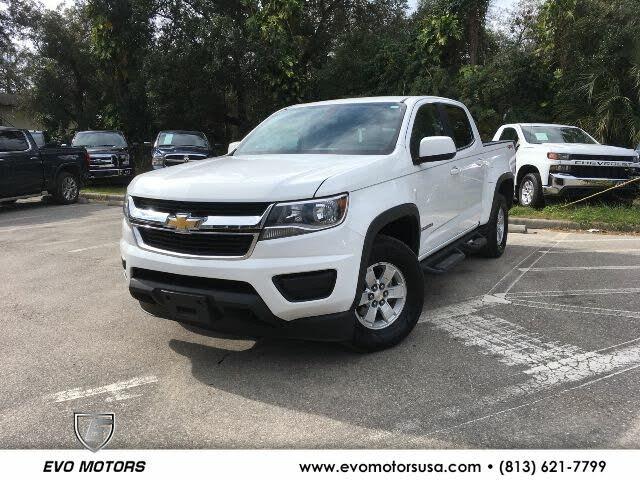 2017 Chevrolet Colorado Work Truck Crew Cab LB 4WD