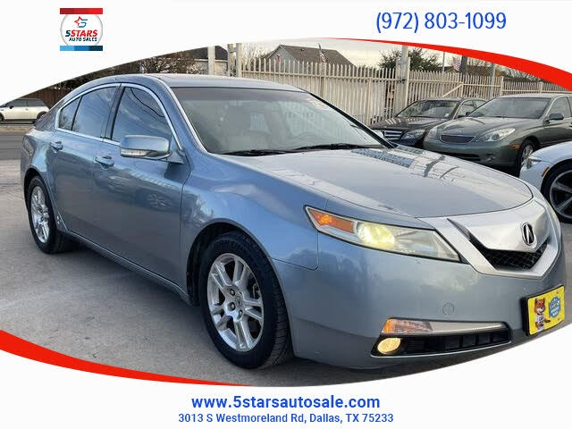 2009 Acura TL SH-AWD with Technology Package and Performance Tires