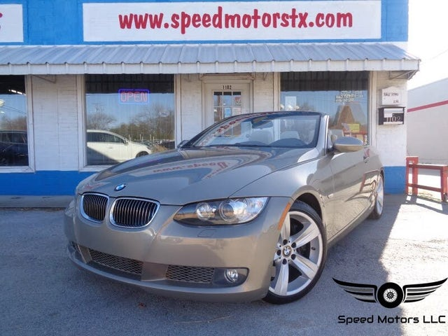 2007 BMW 3 Series 335i Convertible RWD