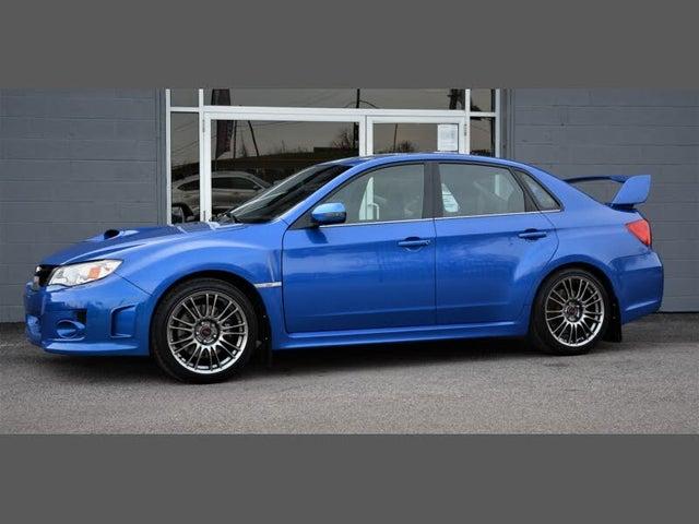 2012 Subaru Impreza WRX STI Limited Sedan AWD