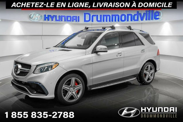 2016 Mercedes-Benz GLE-Class GLE AMG 63 4MATIC S-Model