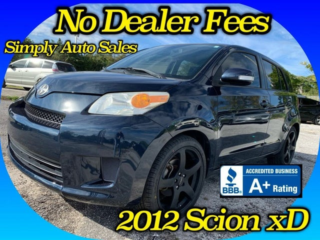 2012 Scion xD RS 4.0