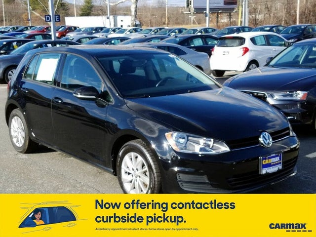 2016 Volkswagen Golf 1.8T S 4-Door FWD with Sunroof