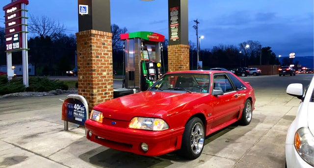 1990 Ford Mustang GT Hatchback RWD