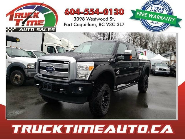 2016 Ford F-350 Super Duty Platinum Crew Cab 4WD