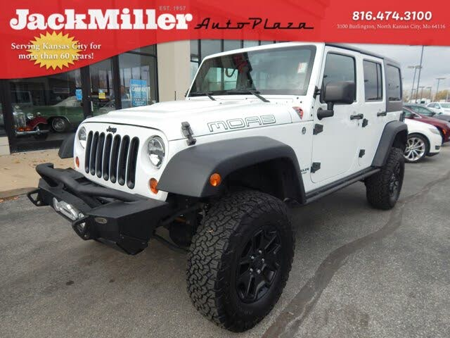 2013 Jeep Wrangler Unlimited Moab 4WD