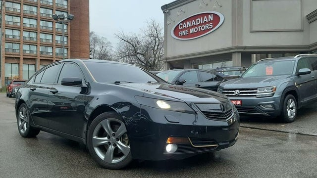 2012 Acura TL SH-AWD with Technology Package