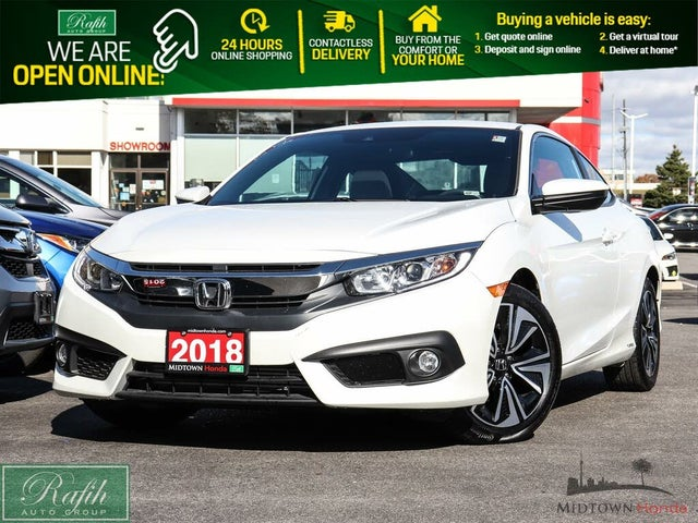 2018 Honda Civic Coupe EX-T with Honda Sensing