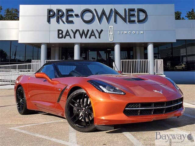 2015 Chevrolet Corvette Stingray Z51 3LT Convertible RWD