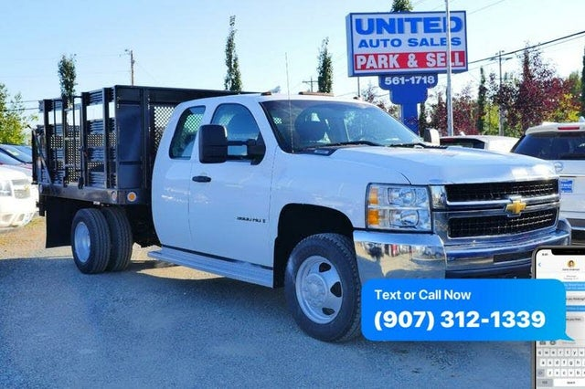 2009 Chevrolet Silverado 3500HD Chassis Work Truck Extended Cab 4WD