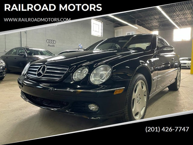 2003 Mercedes-Benz CL-Class CL 600 Turbo Coupe
