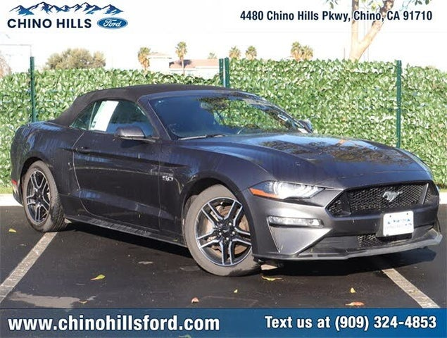 2019 Ford Mustang GT Premium Convertible RWD
