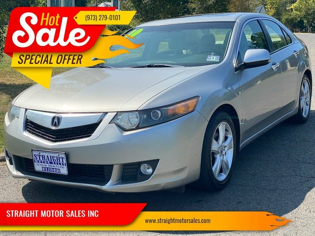 2010 Acura TSX V6 Sedan FWD with Technology Package