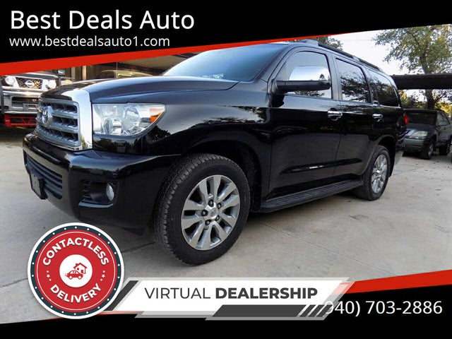 2012 Toyota Sequoia Limited