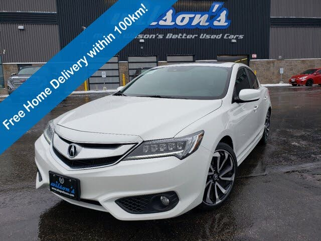 2017 Acura ILX FWD with A-Spec Package