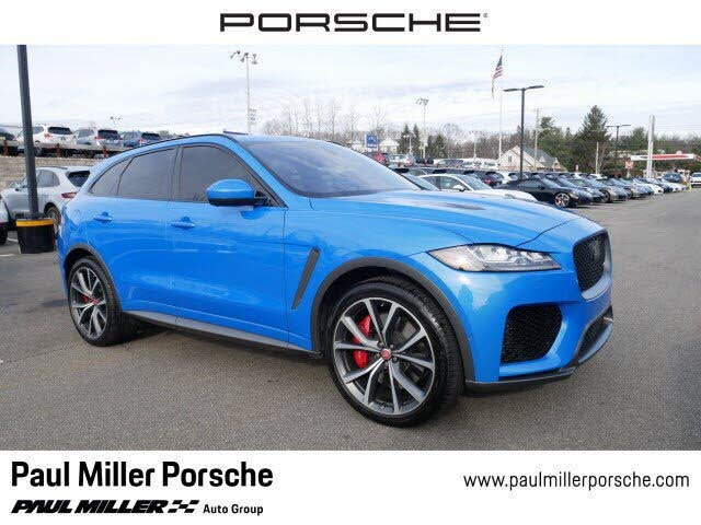 Used 2020 Jaguar F Pace Svr Awd For Sale Right Now Cargurus