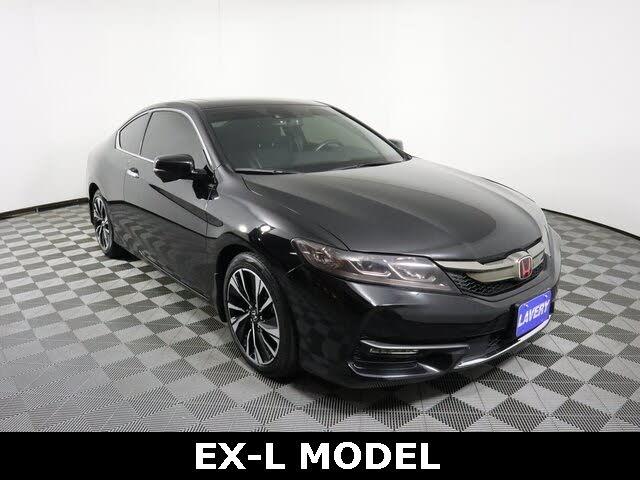 2016 Honda Accord Coupe EX-L with Honda Sensing