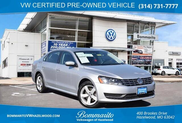 2013 Volkswagen Passat TDI SE with Sunroof