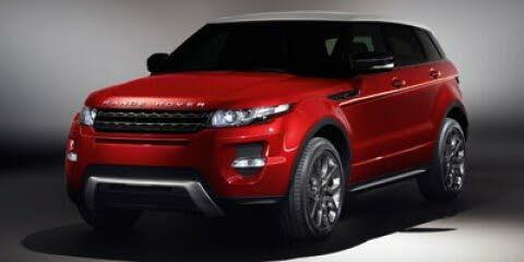 2012 Land Rover Range Rover Evoque Dynamic Crossover AWD