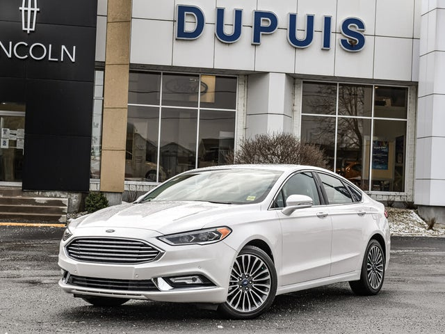 2018 Ford Fusion Platinum AWD