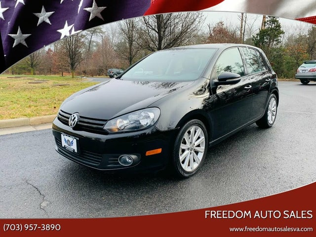2012 Volkswagen Golf TDI with Sunroof and Nav