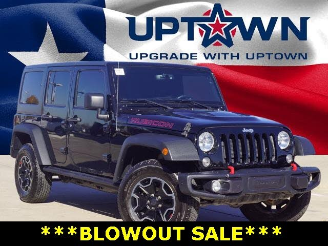 2016 Jeep Wrangler Unlimited Rubicon Hard Rock 4WD