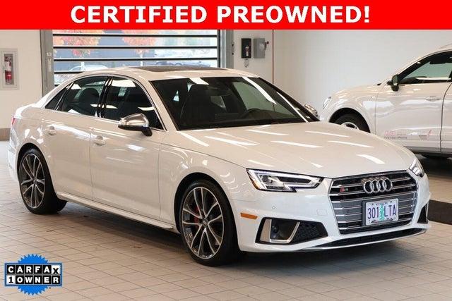 2019 Audi S4 3.0T quattro Premium Plus Sedan AWD