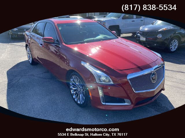 2014 Cadillac CTS 3.6L Premium RWD